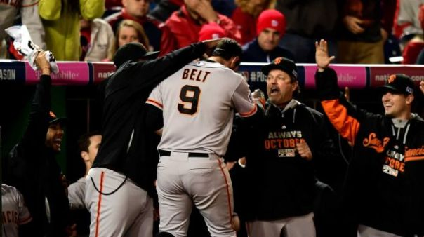 Brandon Belt has improved each of his full seasons at the plate and in the field, however the Giants have got to consider moving Posey from behind home plate to take on 1st base on a more permanent basis one of these years. With the LF posiiti