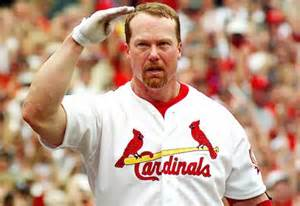 Mark McGwire ans Sammy Sosa both broke Roger Maris's 61 HRs mark in 1998, with Big Mac raking in his 60th HR in his 134th game, which is still the fastest to do so, by 1 game over Bonds, and then he hit 61 in his 136th game, and 62 in his 137th game on Sept.8, 1998.  McGwire finished with 70 HRs in 155 Games Played, and was the record holder for just 3 years until Bonds bested him.