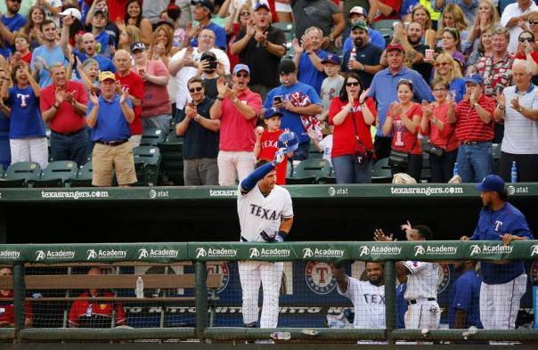Joey Gallo filled in at 3rd this year for Adrian Beltre and clubbed 7 HRs in 108 AB. He posted just over a .700 OPS. His contract being an entry level deal for a few more years will help the club keep salaries down - and he may blossom into a superstar. He is part of a young crop of players like Odor, Profar and Alberto that are all under 25 for Texas.