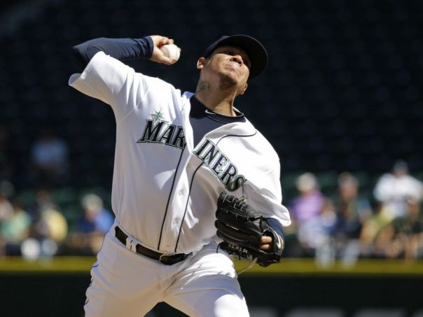 Felix Hernandez had a dominate 1st half to the 2015 before he had a few blowout games in the 2nd half to balloon his ERA to a 3.53 mark. AP Photo/Ted S. Warren