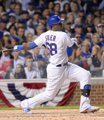 The minute the regular season ended - the clock on Soler's value was depreciating with the Outfield Depth the club already possesses. To trade him was a foregone conclusion.