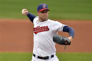 Corey Kluber was the Cy Young Winner in 2014 - with an 18 - 9 record and a ERA of 2.44. That climbed to a 3.49 ERA in 2015 - with a 9 - 16 record despite a great WHIP o 1.05. He had some tough luck and will look to bounce back in 2016.