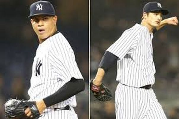 Andrew Miller and Dellin Betances were bot filthy dominant in the 1st half of they year, barely surrendering anything to the opposition. Miller finished the year 10th in Cy Young - by fanning 100 batters, in his 36 Saves. spanning 61.2 IP. His setup man Betances struckout 131 batters in 84 IP, and cleared the year with a spiffy 1.50 ERA. Betances finished 14th in Cy Young Voting. Both men are under Team Control for the next 3 years at least.