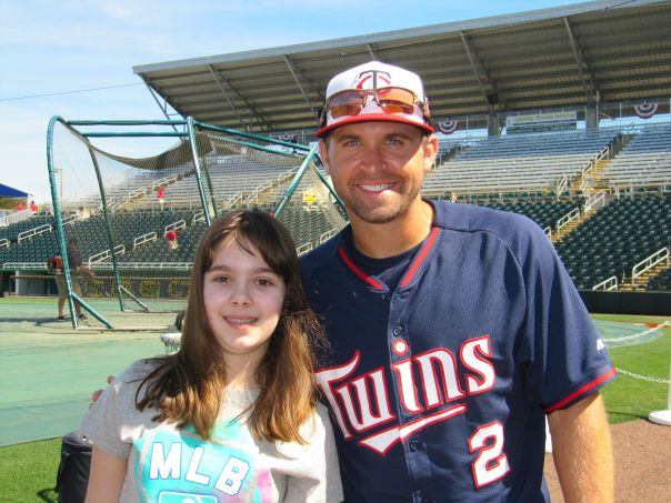 Haley and Brian Dozier