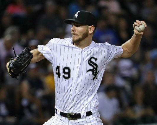 Chris Sale has been as about as dominant as a pitcher as there as been in the American Leaue since he entered intothe rotation