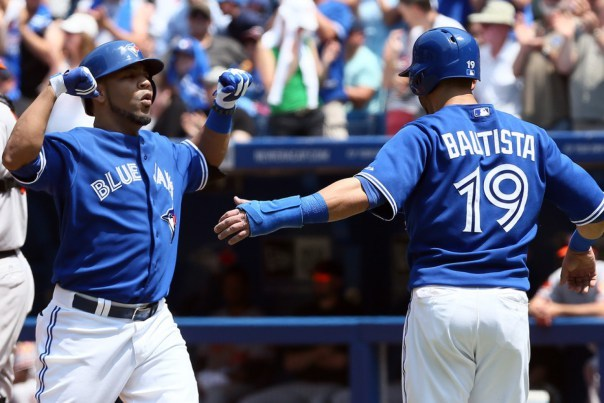 Edwin Encarnacion or Jose Bautista signing with the Yankees would kill two birds with one stone. It would prop up the squad while deflring the Jays in the same diviison