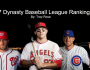 2017 Top – 400 Dynasty League Fantasy Baseball Rankings