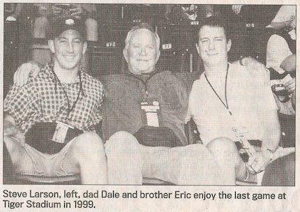 Larson & dad