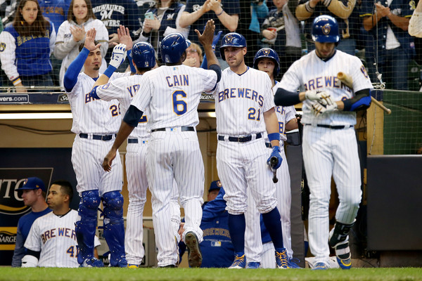Miami+Marlins+v+Milwaukee+Brewers+0kOIO8IY1TSl